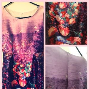 Purple and flowering colors for women